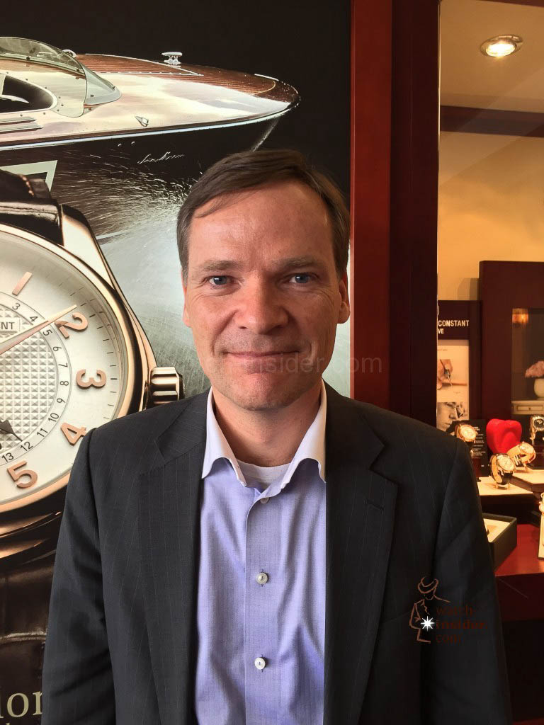 Peter Stas, Founder, Co-Owner and CEO of Frédérique Constant and Alpina