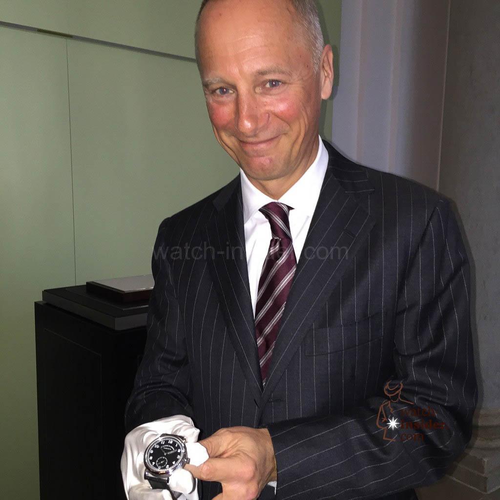 A. Lange & Söhne CEO, Wilhelm Schmid