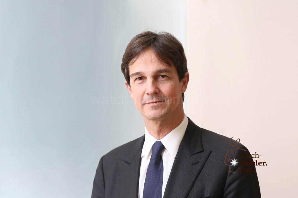Laurent Dordet, CEO of La Montre Hermès