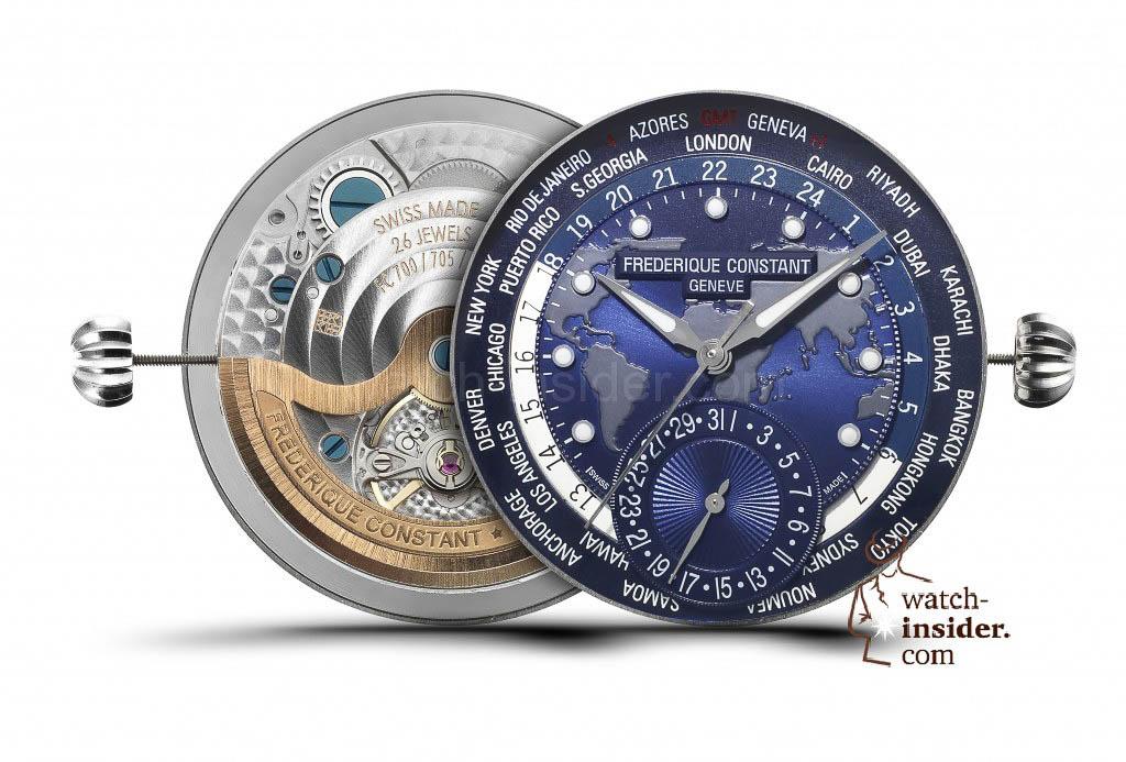 Frederique Constant Classics Manufacture - Worldtimer Collection