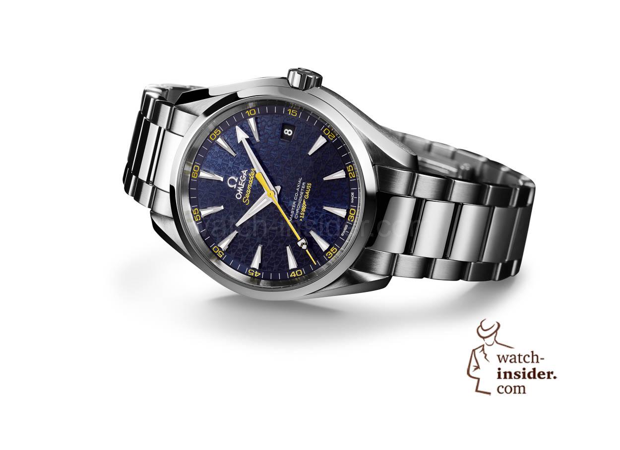 7cf52735258 Omega Seamaster Aqua Terra James Bond Limited Edition – This is the ...