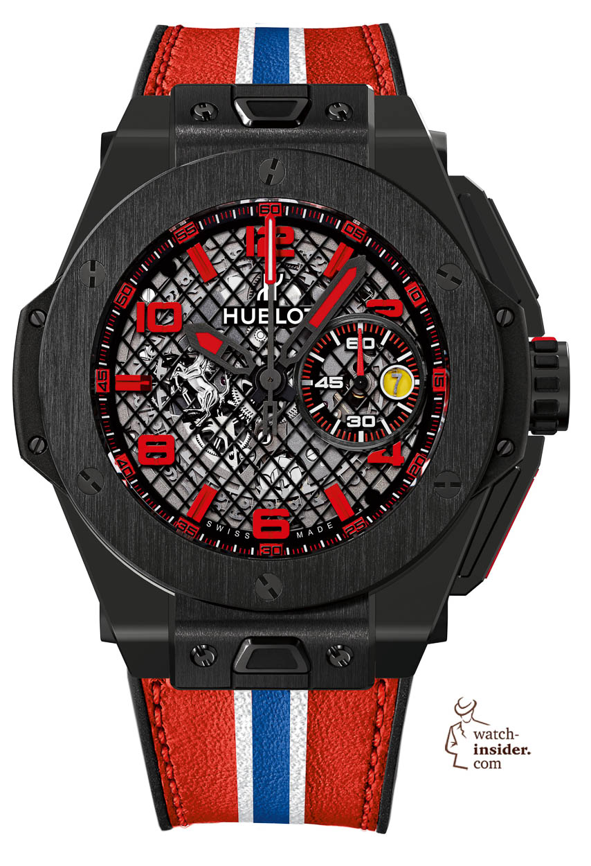 Big Bang Ferrari Black Ceramic