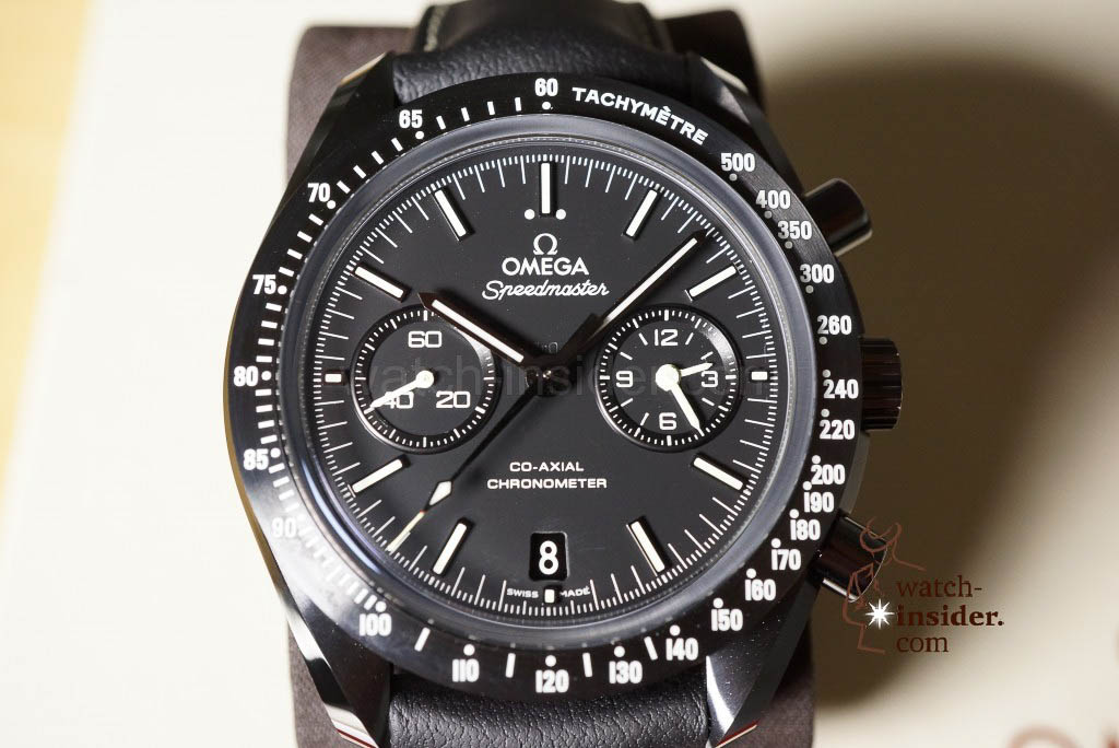 Omega Speedmaster Dark Side of the Moon collection: Pitch Black