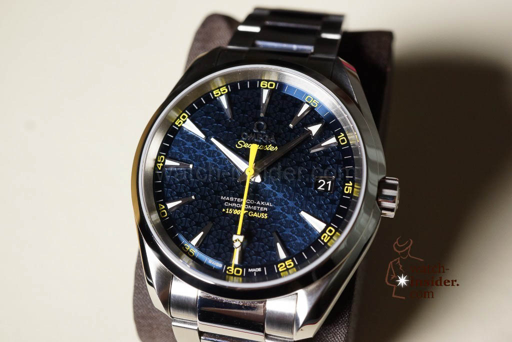 Omega Seamaster Aqua Terra James Bond Limited Edition ...