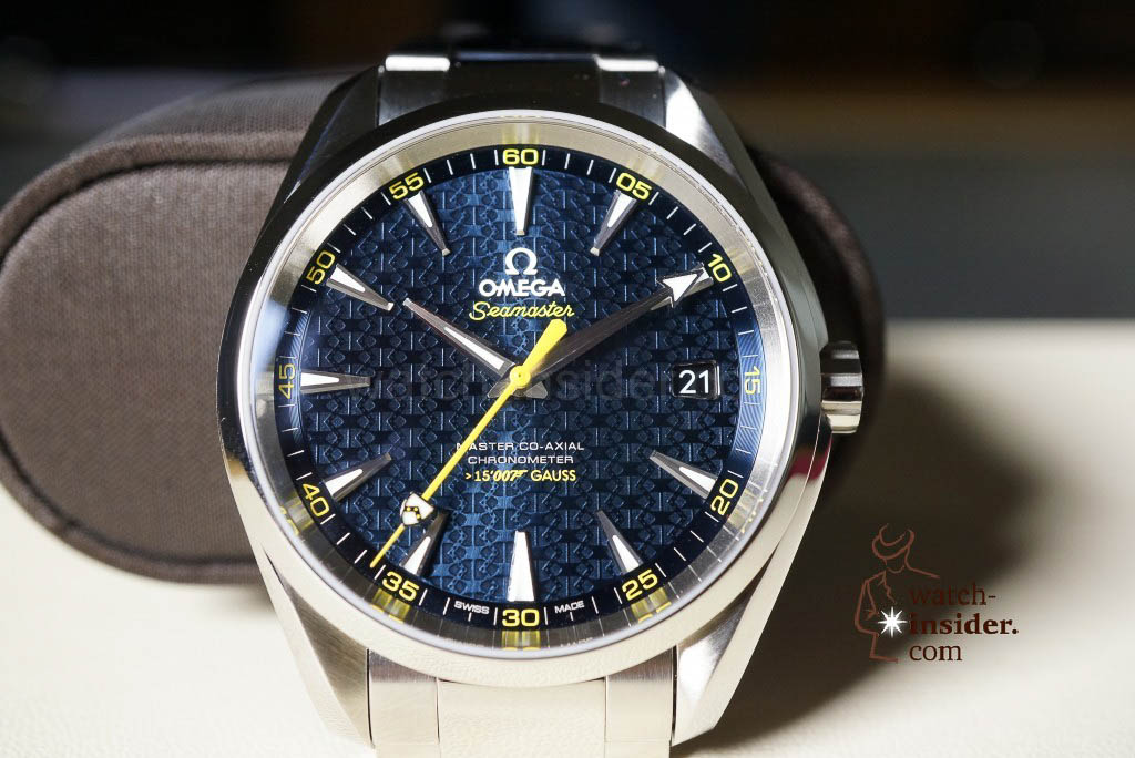 Omega_Aqua Terra James Bond SPECTRE Limited Edition
