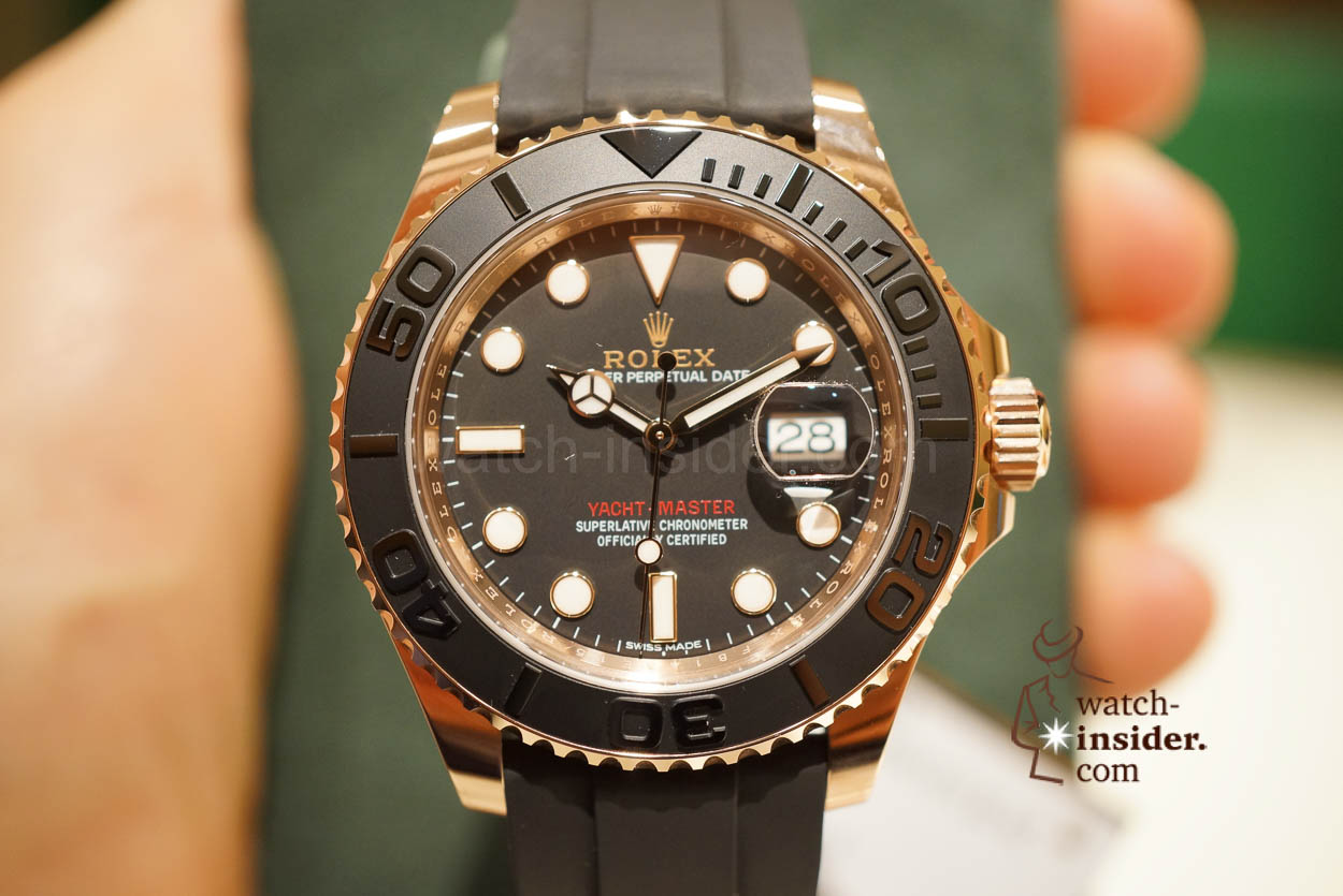 54aa248a8f2 Rolex Day-Date 40 with new calibre 3255, Yacht-Master with ...