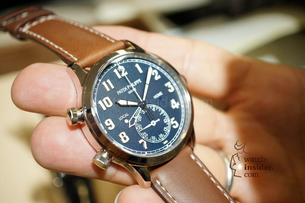 Patek Philippe Reference 5524 Calatrava Pilot Travel Time