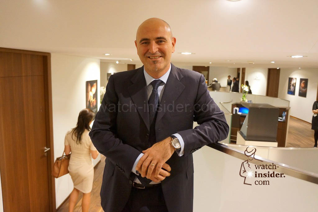 Marc A. Hayek, CEO Blancpain and Breguet