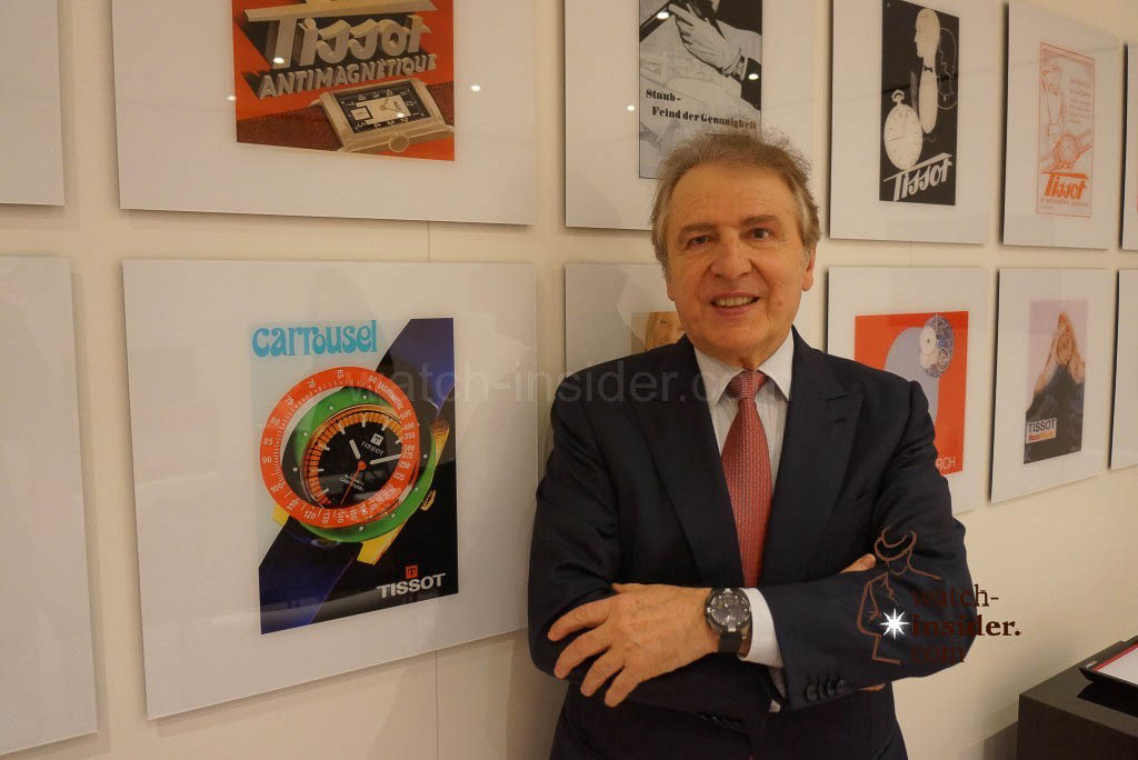 Interview with Francois Thiebaud, President of Tissot @ Baselworld 2015
