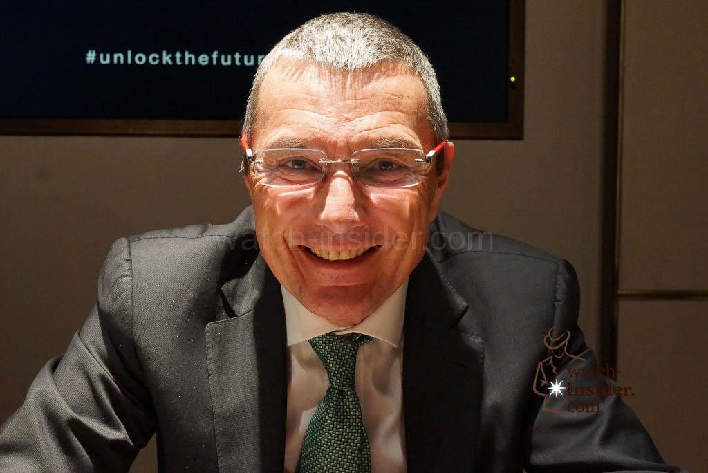 Jean-Christophe Babin, CEO of Bulgari