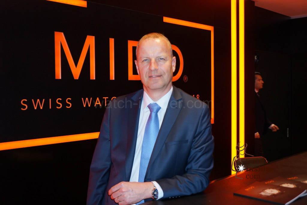 Franz Linder, President Mido
