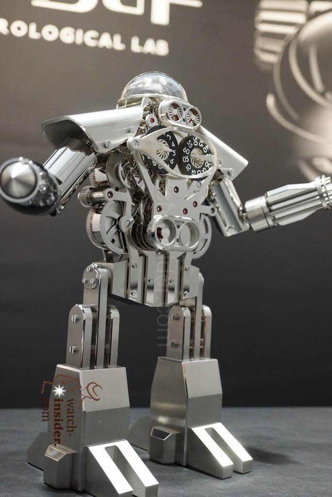 MB&F Melchior, a robo-clock