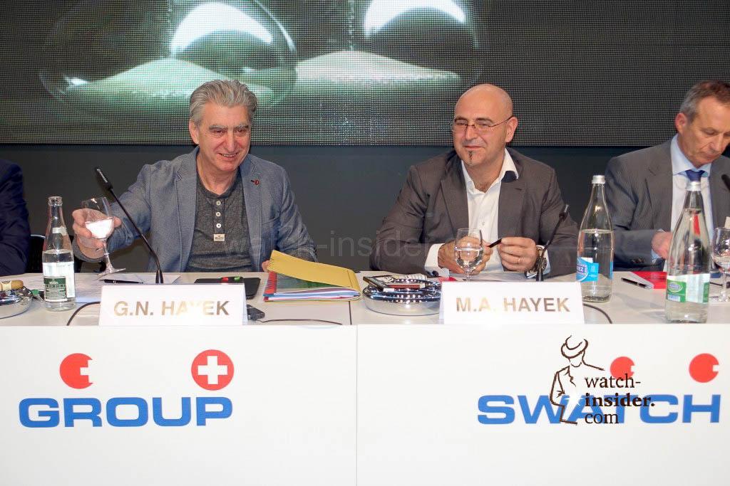 Nick Hayek and Marc Hayek