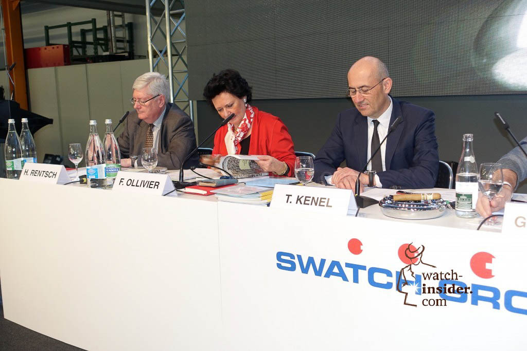The executive board of Swatch Group