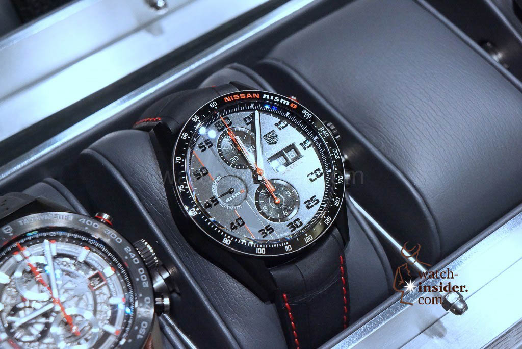 TAG Heuer (43mm) Calibre 16 Chronograph Day-Date Special Edition Nissan Nismo