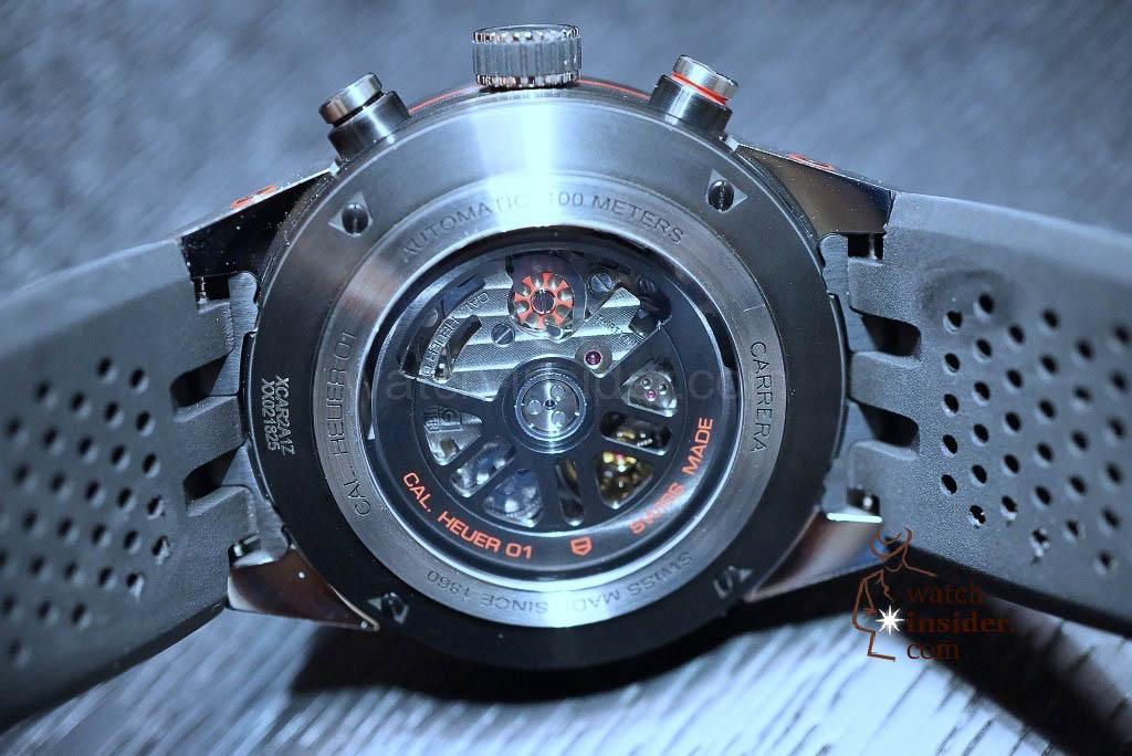 TAG Heuer Carrera (45mm) Calibre HEUER 01 Chronograph