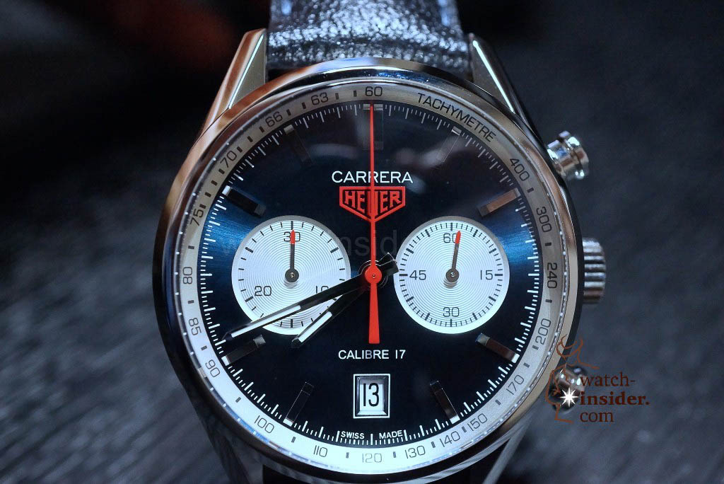 Heuer Carrera (39mm) Calibre 17 limited edition
