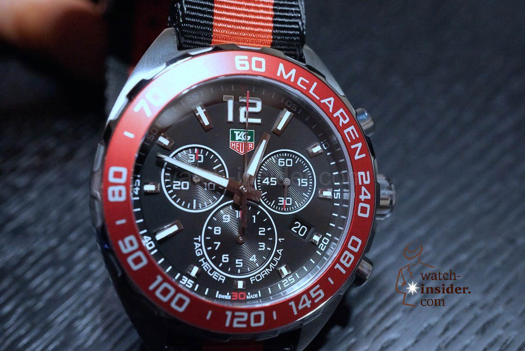 TAG Heuer Formula 1 (42mm) Quartz Chronograph McLaren Numbered Special Edition (xxxx/5000)