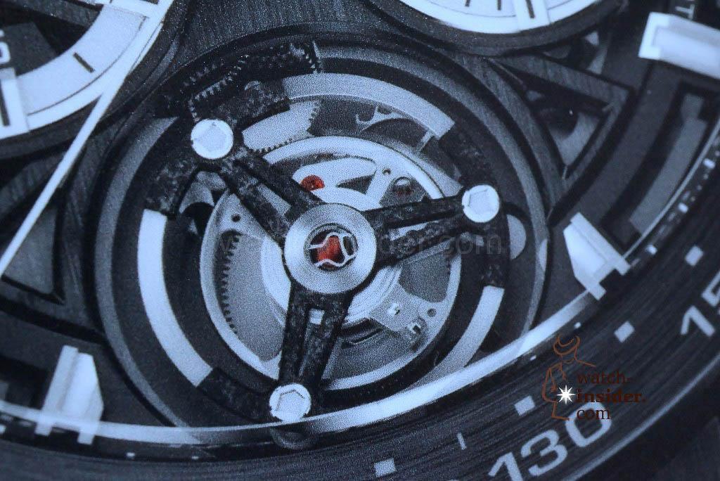TAG Heuer Carrera (45mm) Calibre HEUER 02T Chronograph Tourbillon
