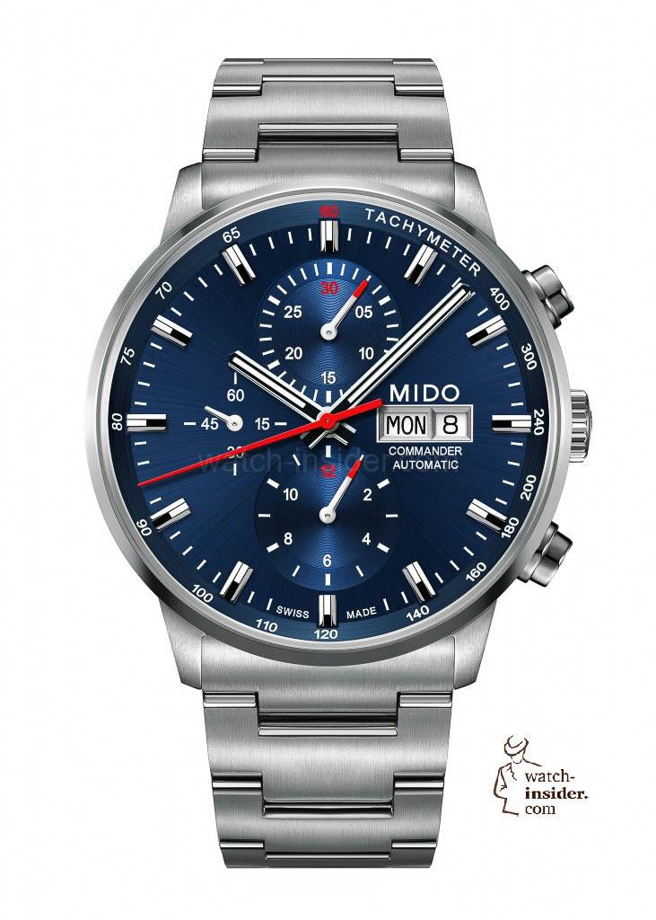 MIDO Commander Chronograph Caliber 60