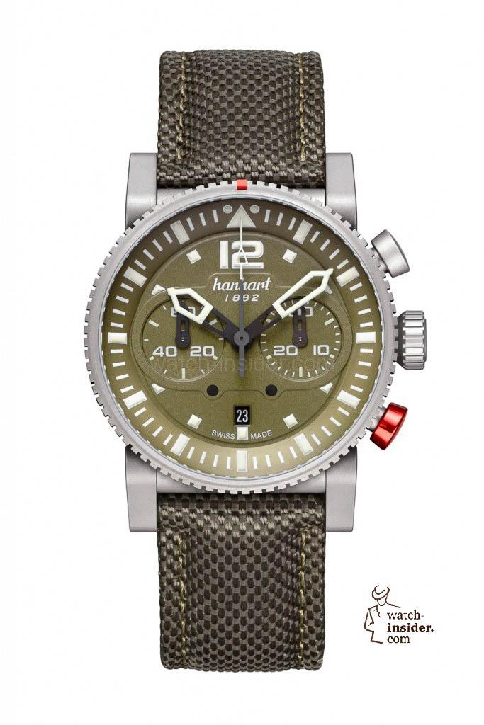 Hanhart PRIMUS Survivor Pilot Chronograph