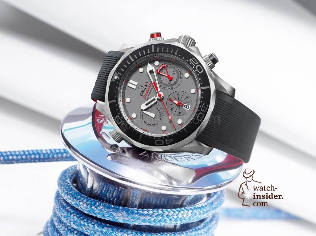 Omega Diver 300m ETNZ Co-Axial Chronograph