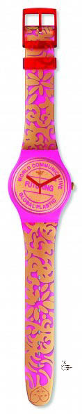 The Swatch Art Special created by Eva & Adele in collaboration with Swatch is called Futuring By Eva & Adele