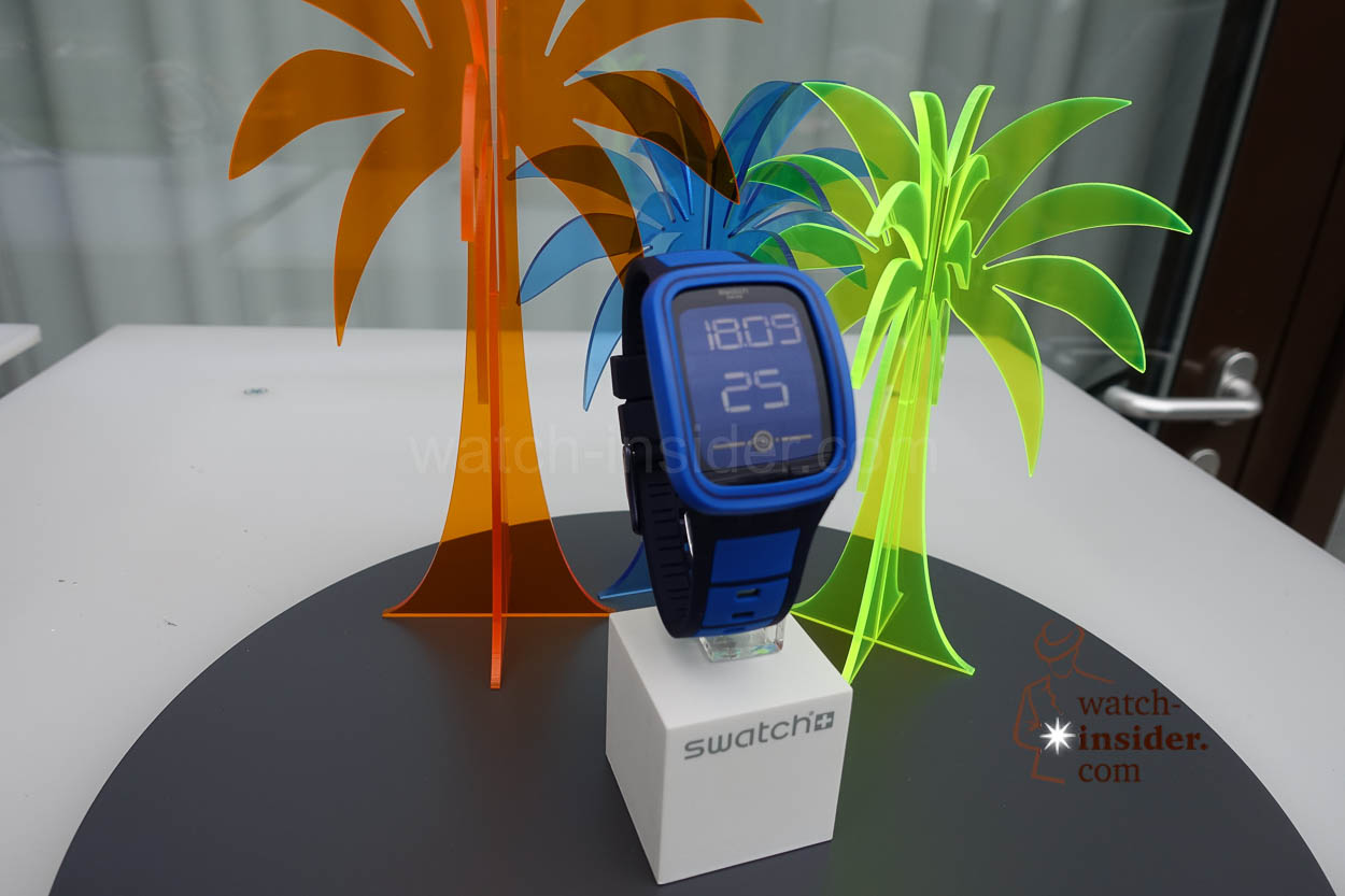 swatch touch zero one world premiere see first pictures of the four new models and listen to. Black Bedroom Furniture Sets. Home Design Ideas