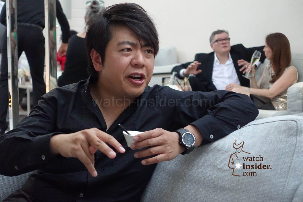 Lang Lang was in a very good mood and so friendly - all day long until late at night...