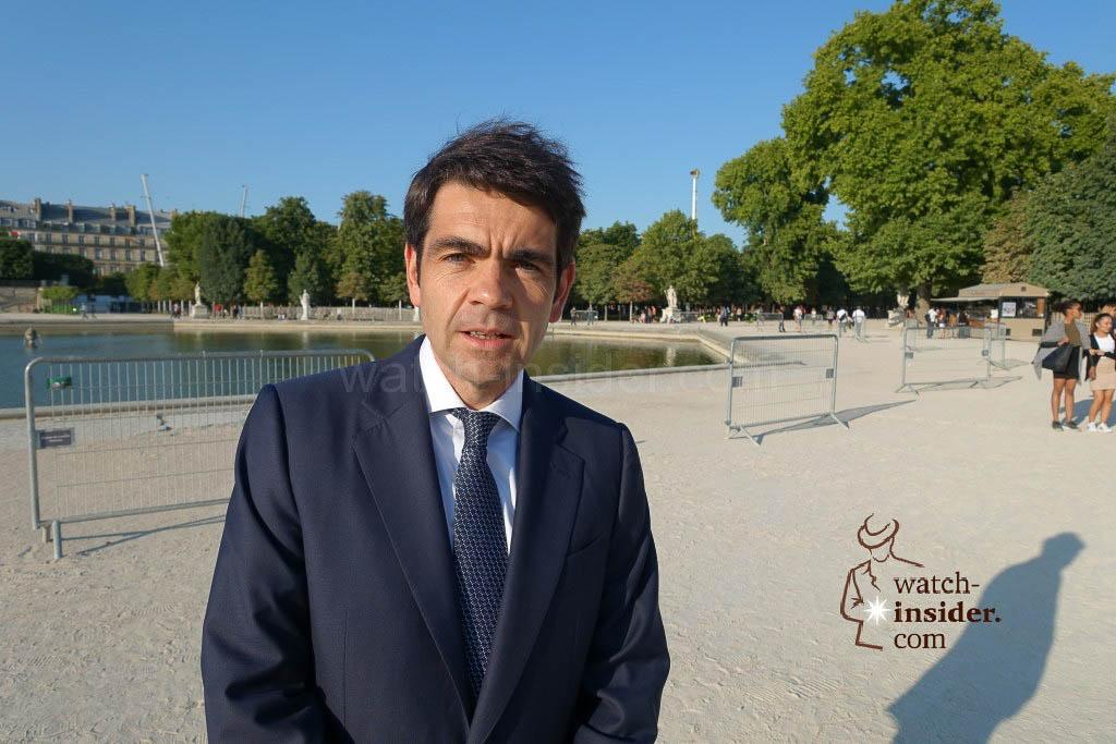 Jérôme Lambert, CEO of Montblanc International