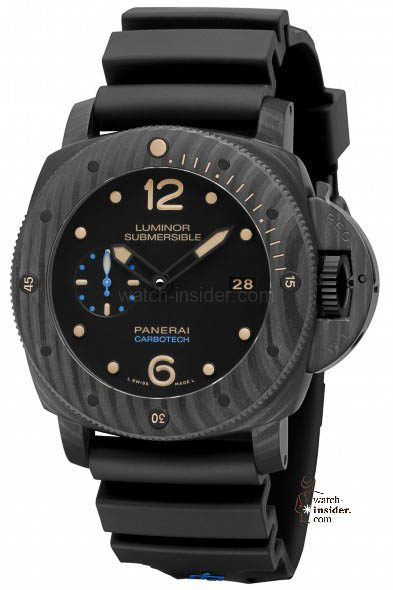 PANERAI PAM00616 Luminor Submersible 1950 Carbotech 3 Days Automatic - 47mm