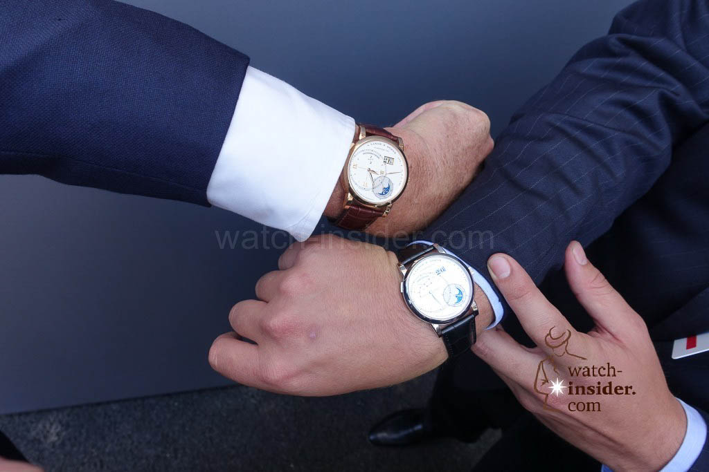 The watches on the wrist of Johann and Anton Rupert