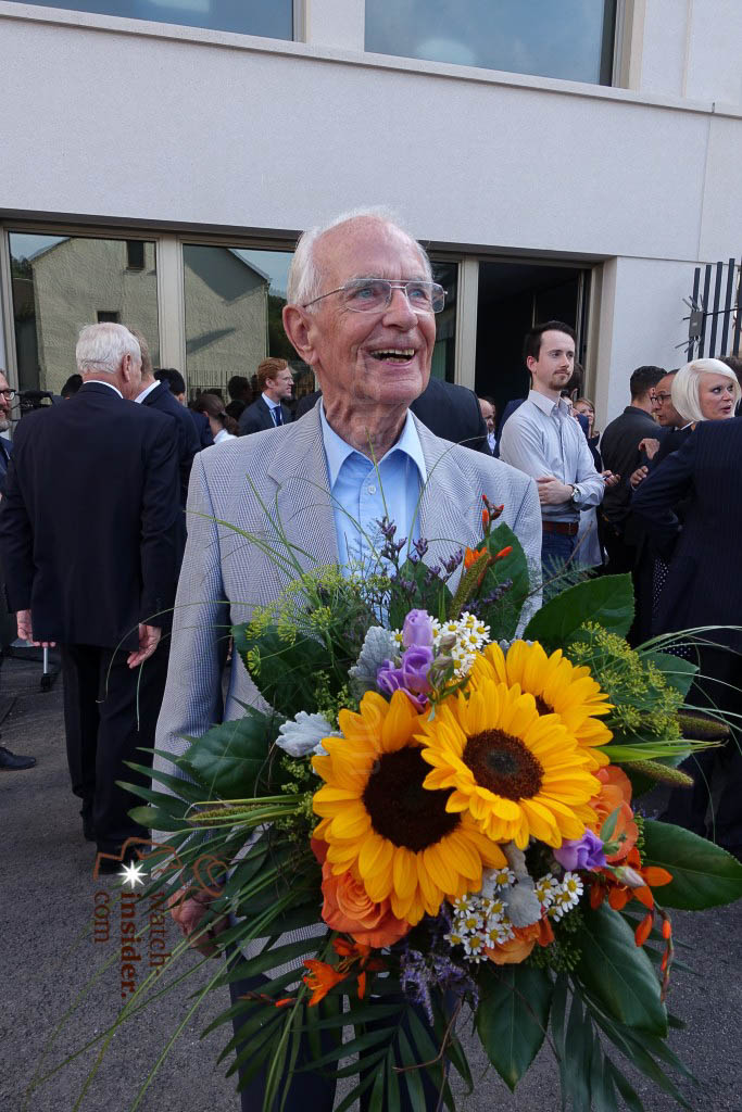 Walter Lange was very, very happy yesterday