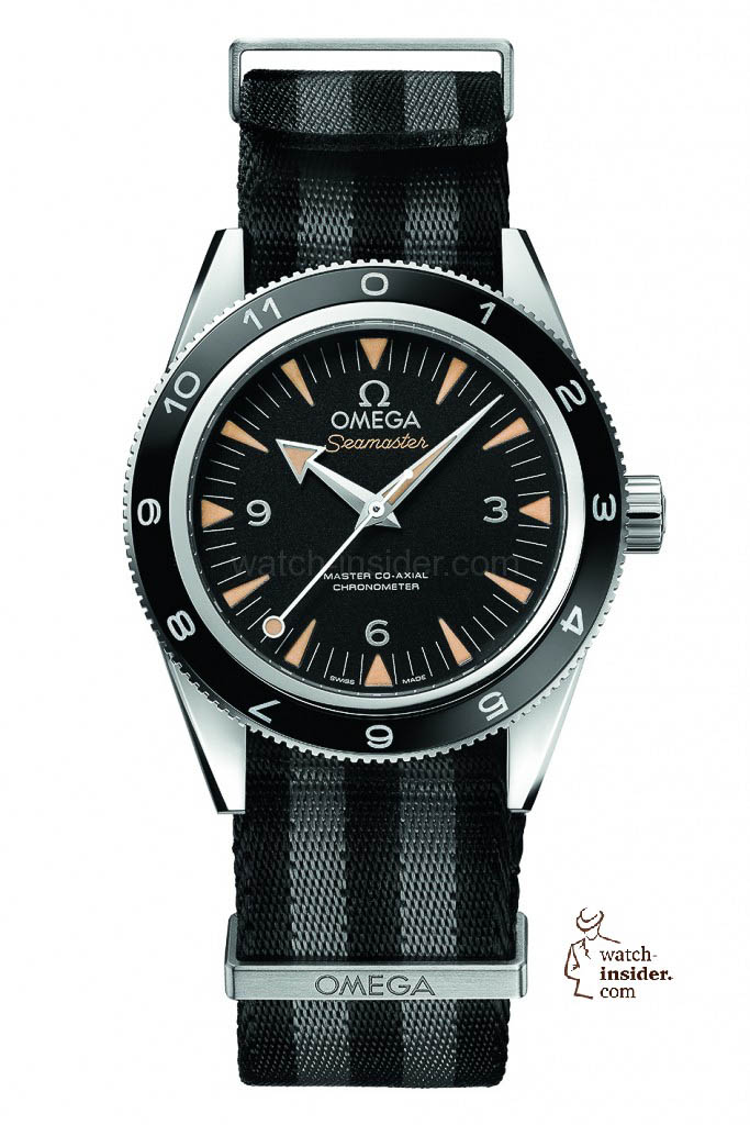 OMEGA Seamaster 300 Spectre Limited Edition with grey/black NATO-strap