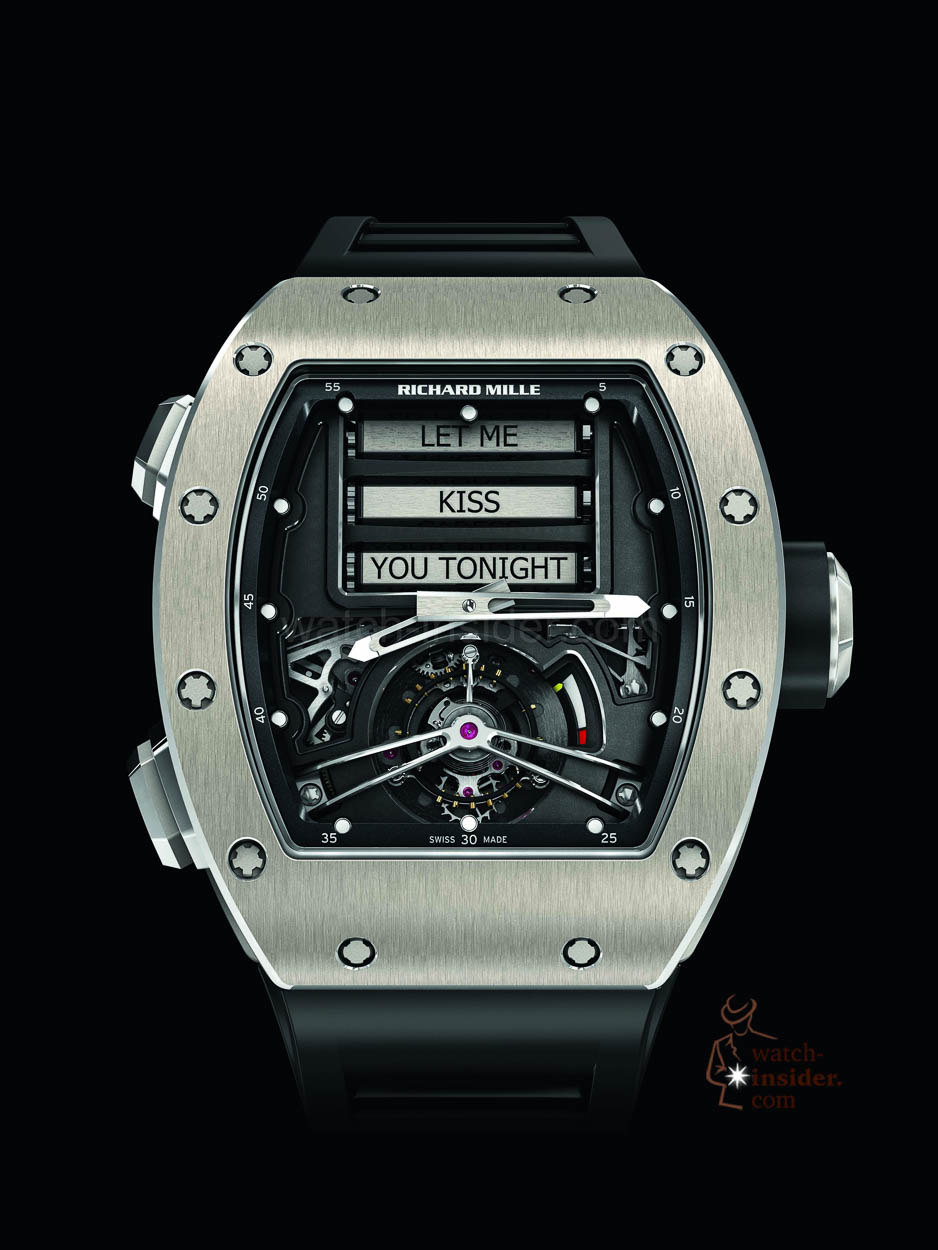 The Richard Mille Rm 69 Erotic Tourbillon Nomen Est Omen