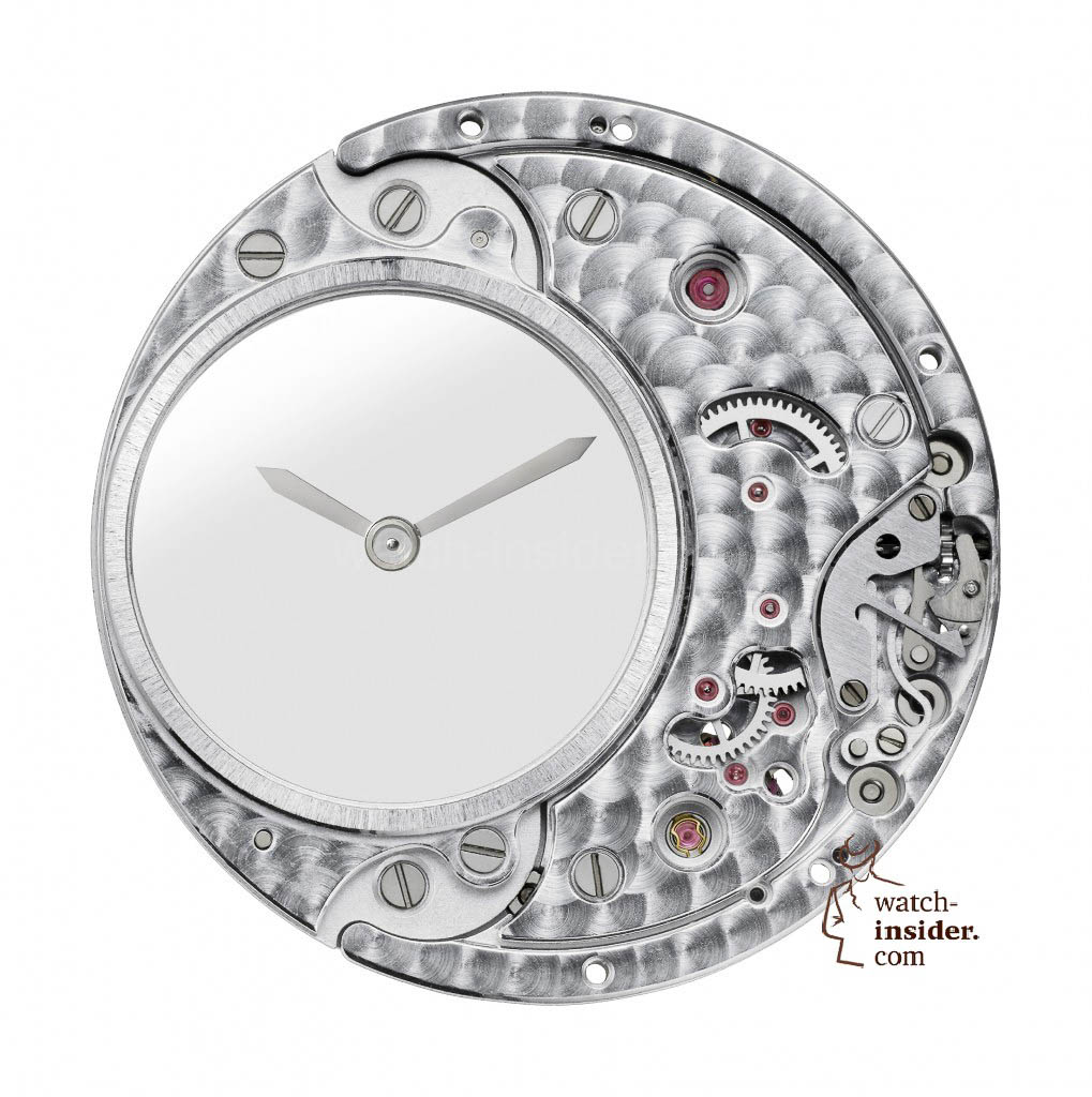 Clé de Cartier Mysterious Hour watch CALIBRE 9981 MC