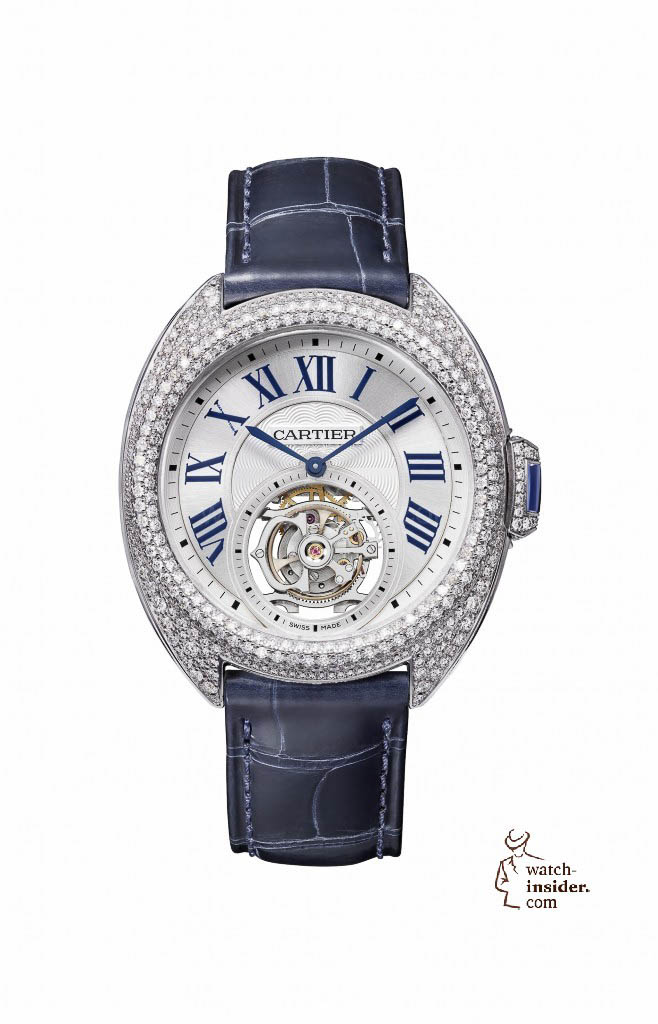 Clé de Cartier Flying Tourbillon watch, 35 mm