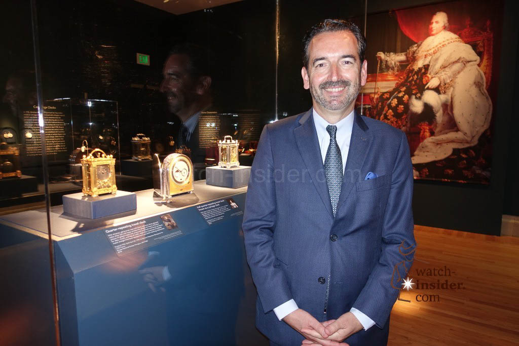 Emmanuel Breguet, Breguet Vice President and head of Patrimony and Strategic Developement