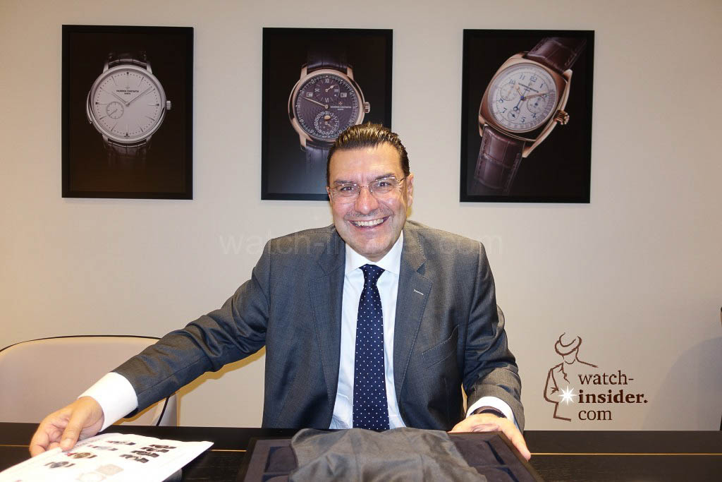 Charlie Torres, CEO Vacheron Constantin.