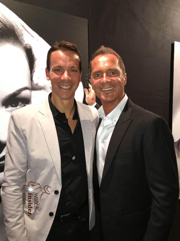 Johnny Girardin and Franck Orny, the creators of Harry Winston Opus 14