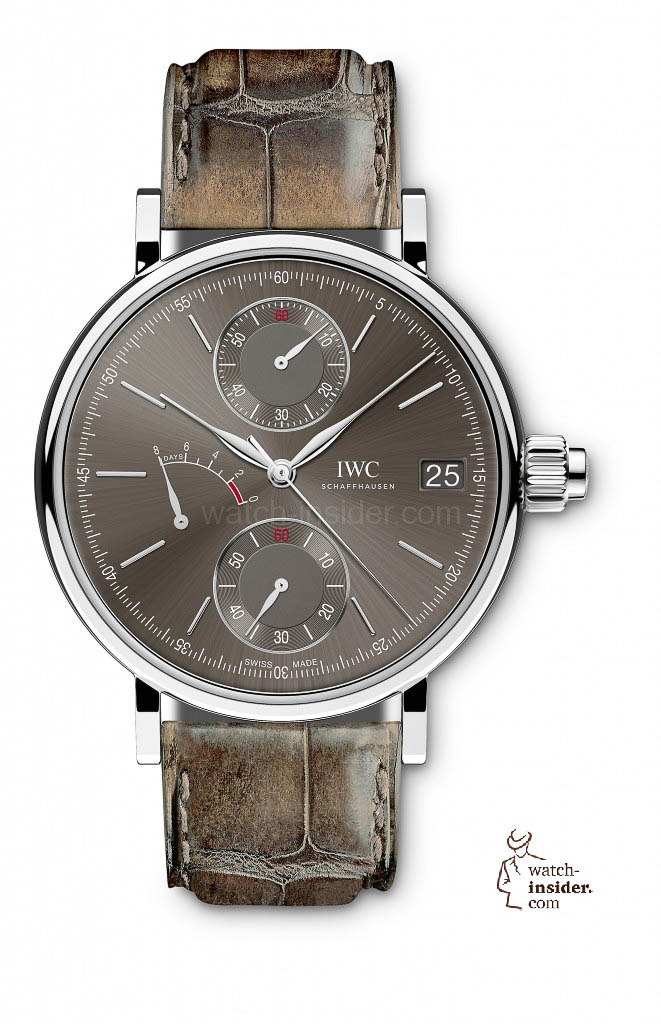 IWC Portofino Hand-Wound Monopusher in 18-carat white gold