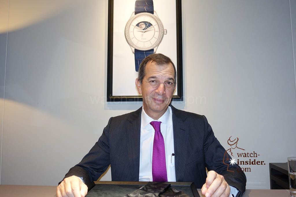 Philippe Leopold-Metzger, CEO of Piaget
