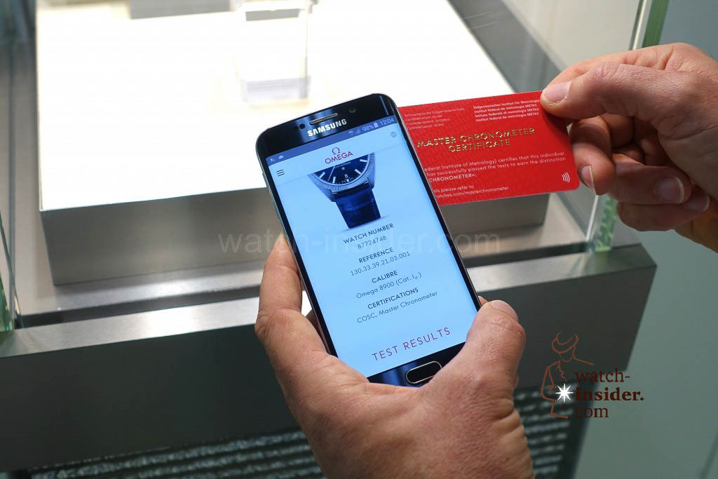 Everything is transparent. With the card you get access to all relevant results of your personal watch.