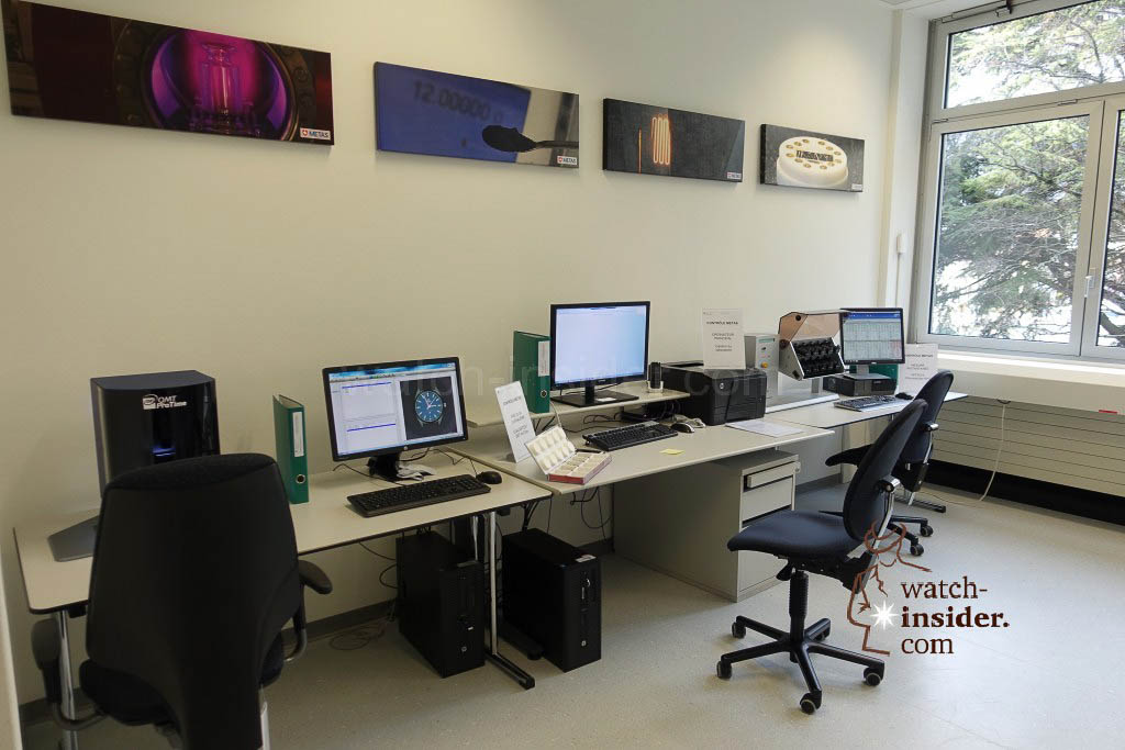 The official METAS office located at the Omega headquarter in Biel.