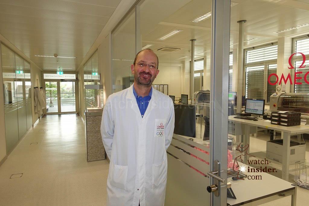 Andreas Hobmaier, Omega VP, Head of Procurement & Production