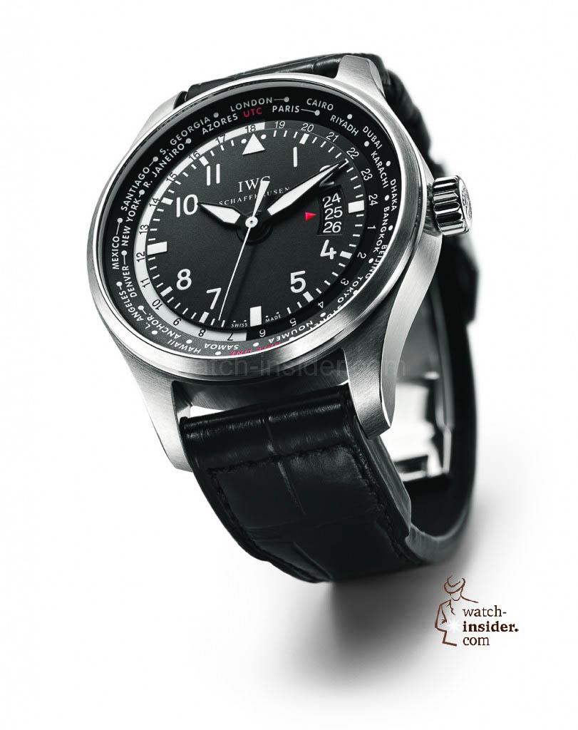 IWC Schaffhausen Pilots Watch Worldtimer