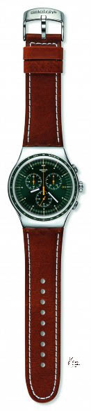 Swatch The Chrono Alpine Vintage sold for € 175,-