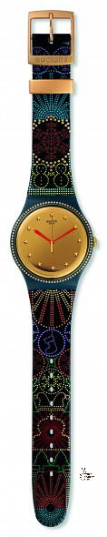 Swatch Xmas Special 2015 Lucinfesta sold for 105 Euro