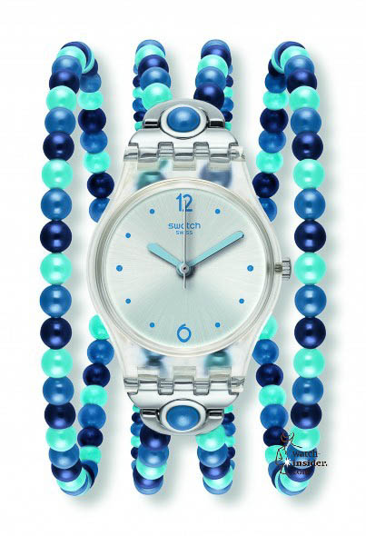 Swatch Blue Prohibition sold for € 75,-