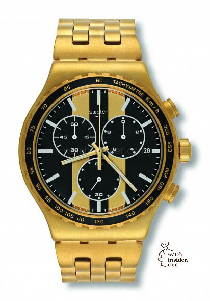 Swatch Golden Fever sold for € 195,-